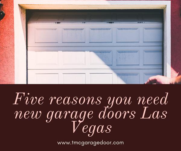 new garage doors in Las Vegas